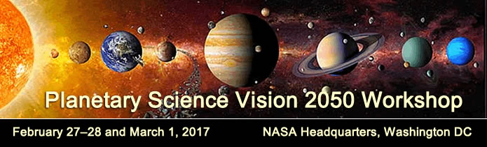 Planetary Science Vision 2050 Workshop